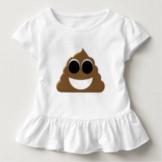 Emoji drôle Poo T-shirt Pour Les Tous Petits