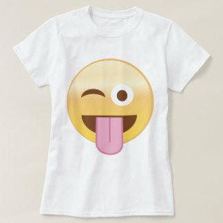 Emoji espiègle d'humeur t-shirt