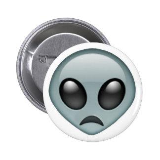 Emoji étranger triste badges
