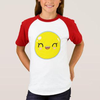 emoji heureux t-shirt