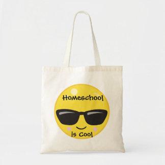 Emoji jaune Homeschool est frais Sac Fourre-tout