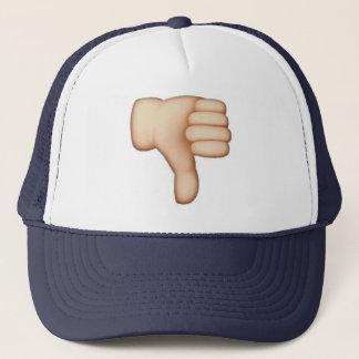 Emoji - pouces vers le bas casquette