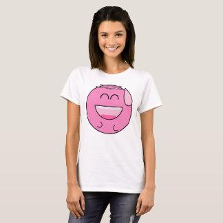 Emoji rose heureux t-shirt