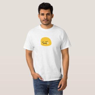 Emoji triste t-shirt
