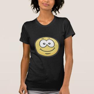 Emoji : Visage de sourire blanc T-shirt