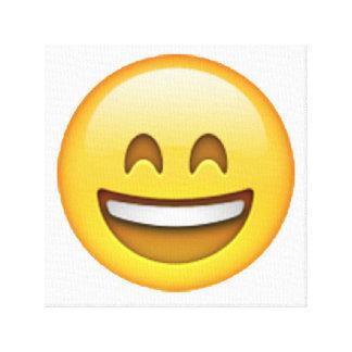 Emoji - yeux fermés de sourire toiles