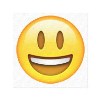 Emoji - yeux ouverts de sourire toiles