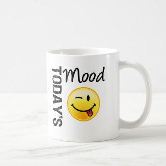 Émoticône d'aujourd'hui d'humeur espiègle mug