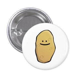 Émoticône de pomme de terre badges