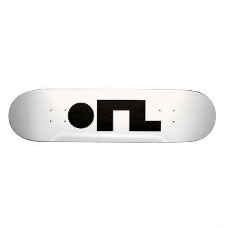 Émoticône Kaomoji Emoji d'ORZ Skateboards Personnalisés