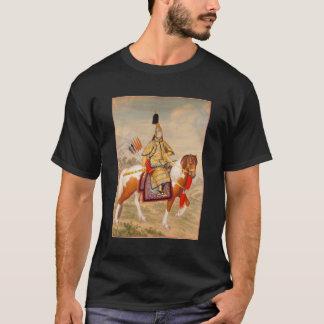 Empereur de Qianlong dans l'armure cérémonieuse à T-shirt