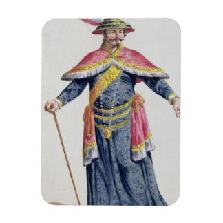 Empereur de Yu de la Chine de 'DES Estampes de Rec Magnets Rectangulaire