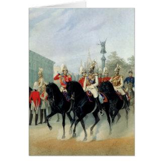 Empereur Nicholas I et duc grand Alexandre Carte De Vœux