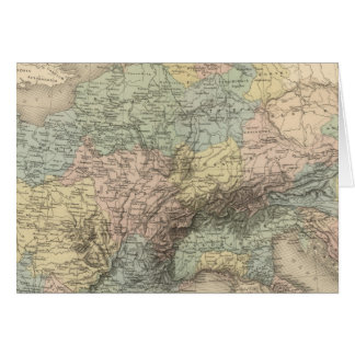 Empire de Charlemagne Carte De Vœux
