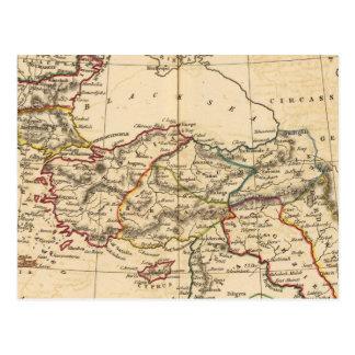 Empire de tabouret carte postale