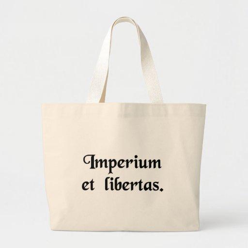 Empire et liberté sac fourre-tout