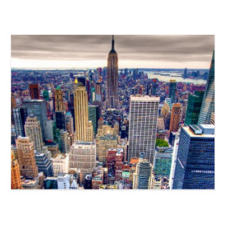Empire State Building et Midtown Manhattan Cartes Postales