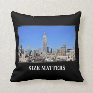Empire State Building, horizon de NYC : Sujets de Coussin