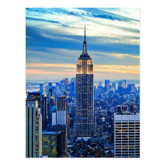 Empire State Building, Manhattan, New York City Carte Postale