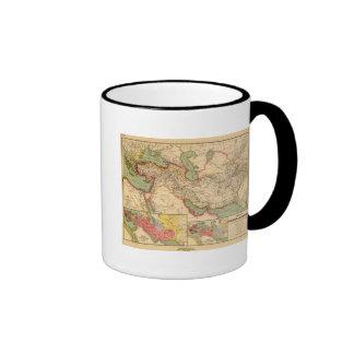 Empires antiques du monde des Persans, Macédoniens Mug Ringer