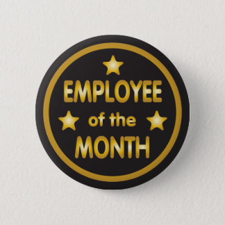 Employé des étoiles d'or de mois badge