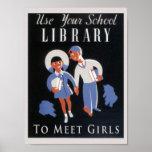 Employez votre bibliothèque affiches