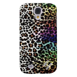 Empreinte de léopard coque galaxy s4