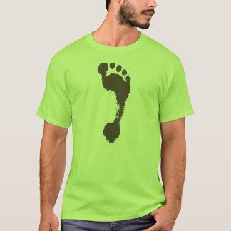 Empreinte de pas t-shirt