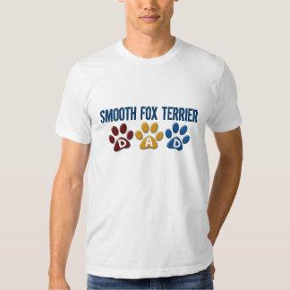 Empreinte de patte DOUX 1 de papa de TERRIER de T-shirts