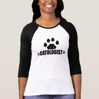 Empreinte de patte humoristique de chat t-shirt