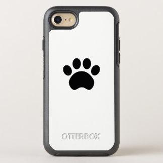 Empreinte de patte mignon coque otterbox symmetry pour iPhone 7