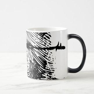 Empreinte digitale mug magic