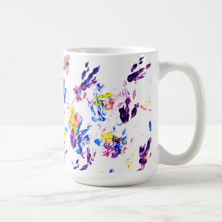 empreintes de pas de pingouin mug