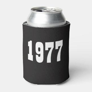 En 1977 l'anniversaire soutenu peut le quarantième rafraichisseur de cannettes