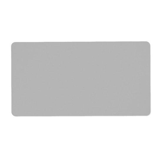 En blanc gris de la tendance 2014 de couleur de étiquette d'expédition
