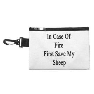 En cas de feu sauvez d'abord mes moutons trousses pour accessoires