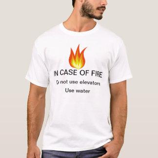 EN CAS de T-shirt du FEU