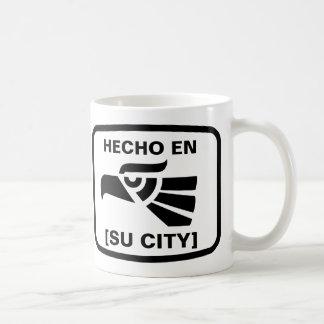 EN DE HECHO (SU CIUDAD) MUG