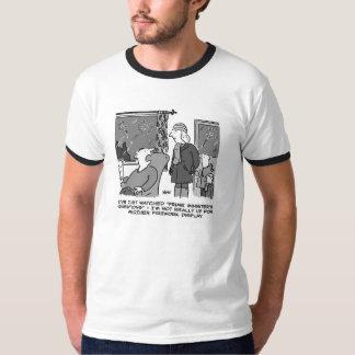 En donnant le feu d'artifice montrez une Mlle T-shirts