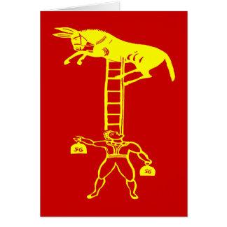 En équilibrant un ~ vivant d'âne CHANGEZ la carte
