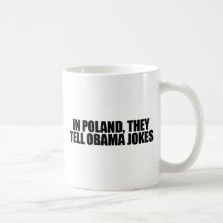 En Pologne, ils racontent des plaisanteries Mug