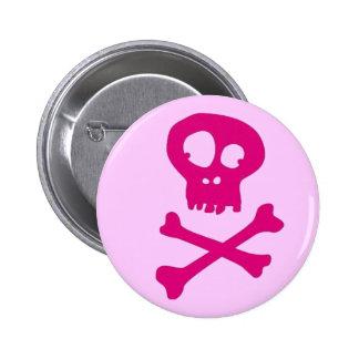 En rose pour Halloween - Pin's