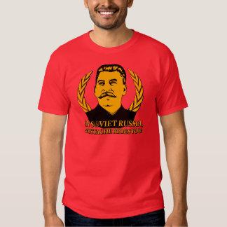 En Russie soviétique, la moustache vous monte ! T-shirts