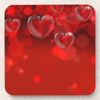 En-tête d'arrière - plan de jour de Valentines Sous-bocks