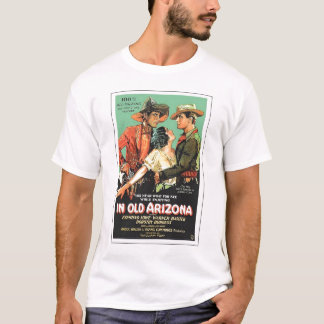 """En vieil Arizona"" 1928 T-shirts vintages"