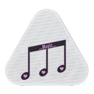 Enceinte Bluetooth Motif note de musique Haut-parleur Bluetooth