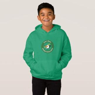 Encinal badine le sweatshirt de logo d'Eagle de