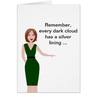 Encouragement - sarcastique cartes