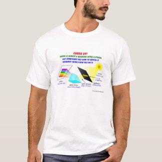 Encouragez, il y avez toujours un arc-en-ciel t-shirt