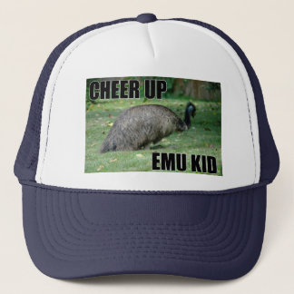 Encouragez le casquette d'enfant d'émeu